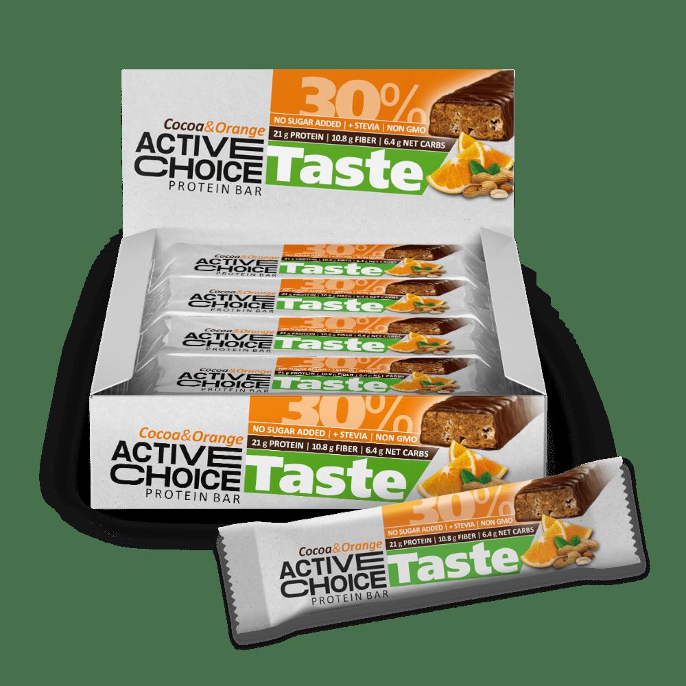 Кутия Active Choice бар - Cocoa Orange