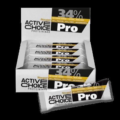 Кутия Active Choice бар - Nougat