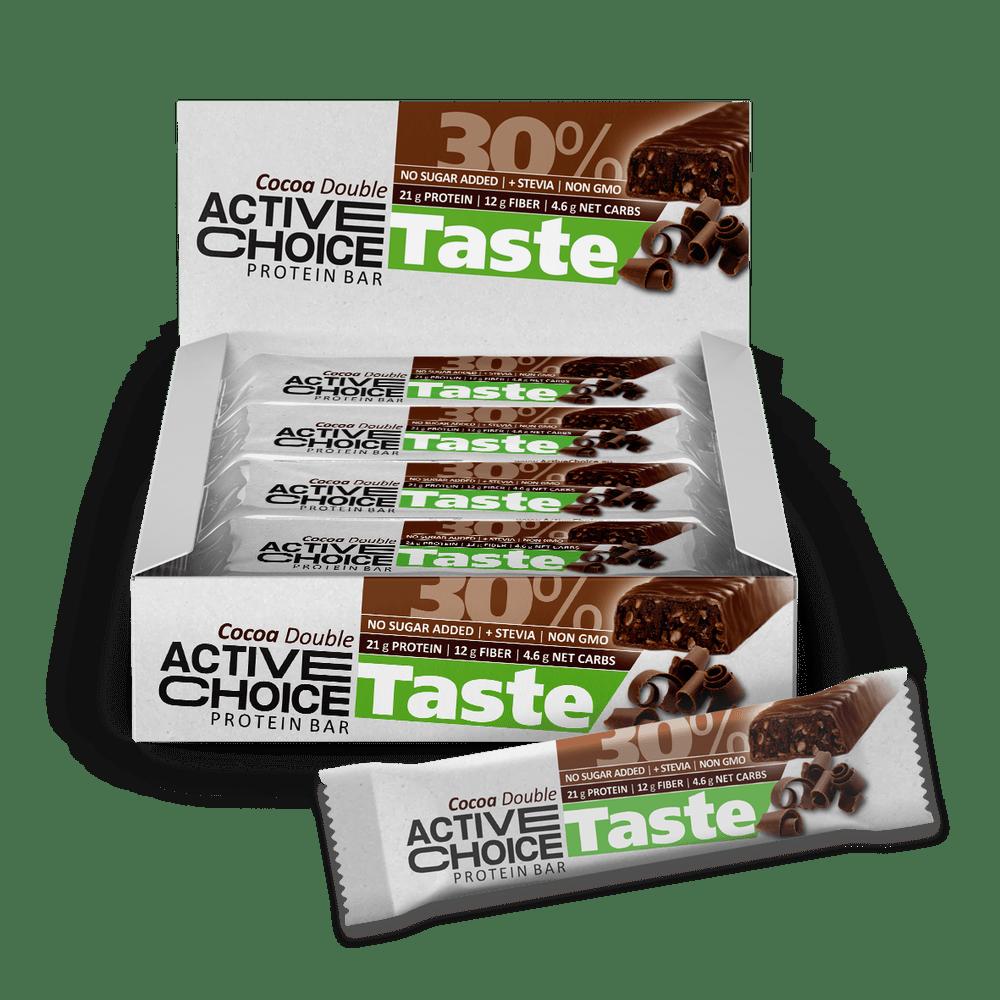 Кутия Active Choice бар - Cocoa Double