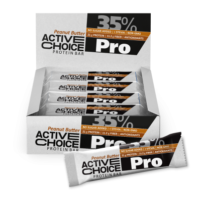 Кутия Active Choice бар - Peanut butter