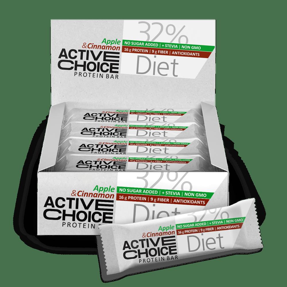 Кутия Active Choice бар - Аpple & Cinnamon