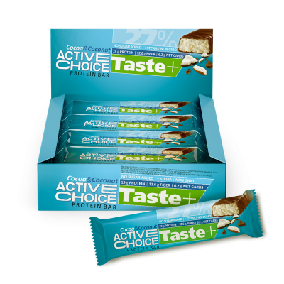 Кутия Active Choice бар - Cocoa&Coconut
