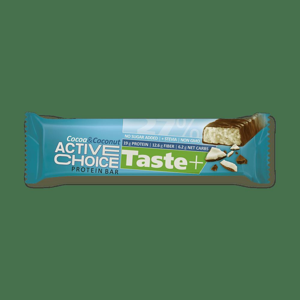 Кутия Active Choice протеинов бар - Cocoa&Coconut