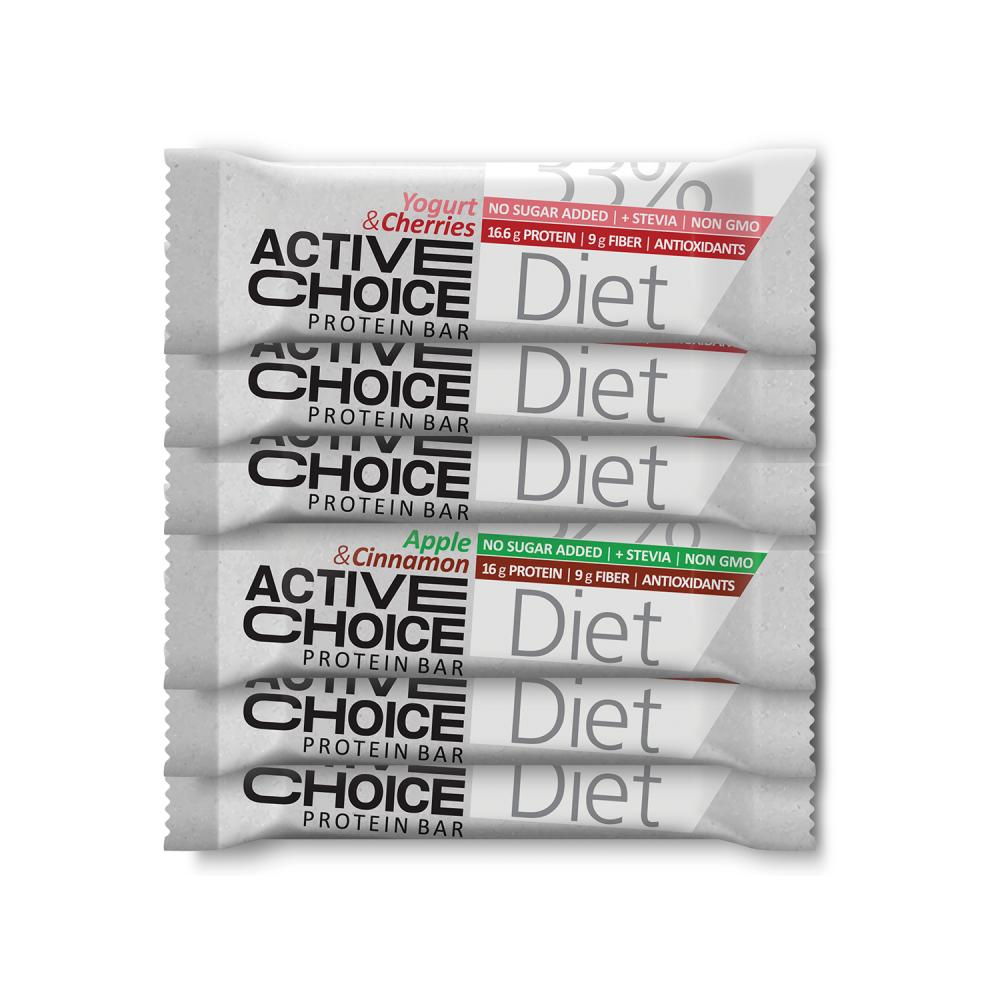 Active Choice - DIET box (6 бр. барчета)