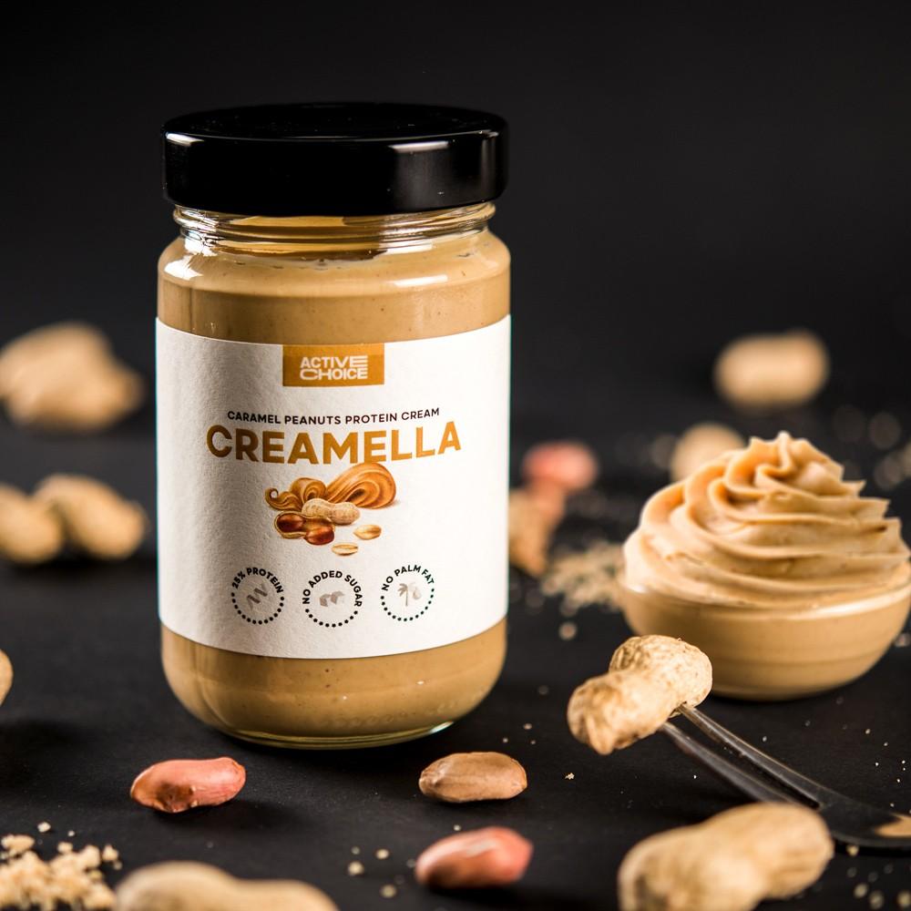 Протеинов крем CREAMELLA Caramel Peanuts