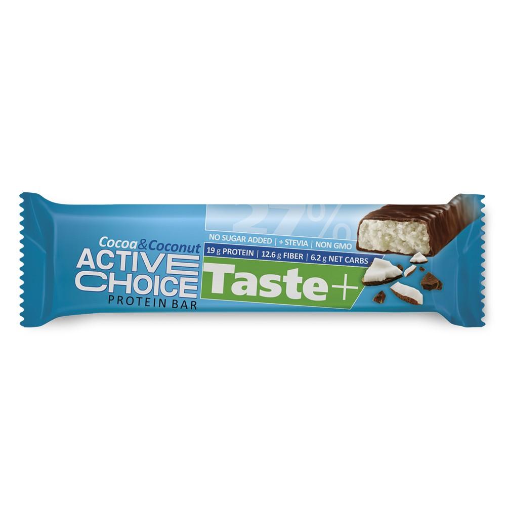 Active Choice протеинов бар - Cocoa&Coconut