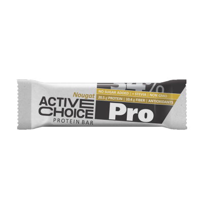 Active Choice протеинов бар - Nougat