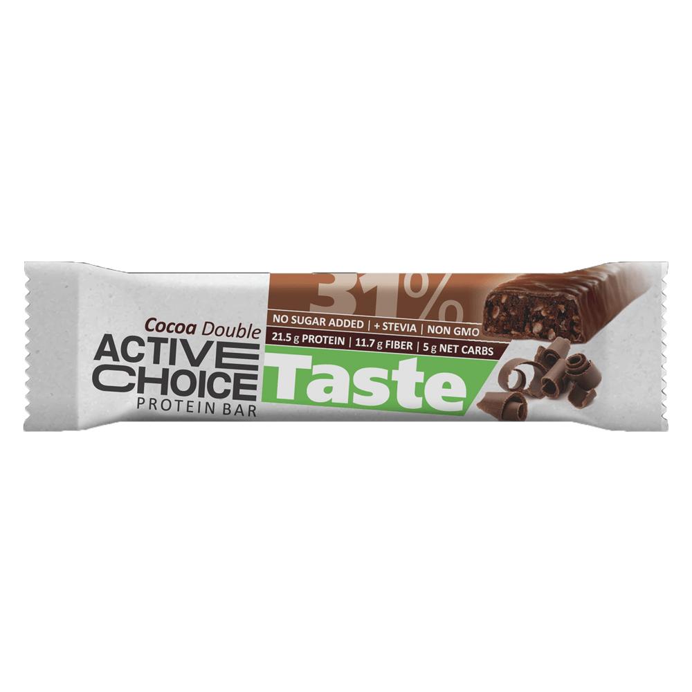 Active Choice протеинов бар - Cocoa Double
