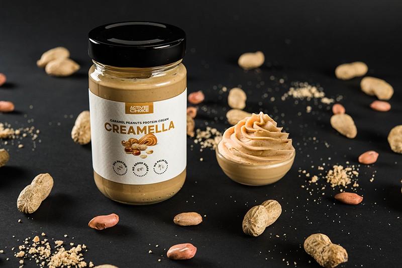 Фъстъчен протеинов крем CREAMELLA Caramel Peanuts