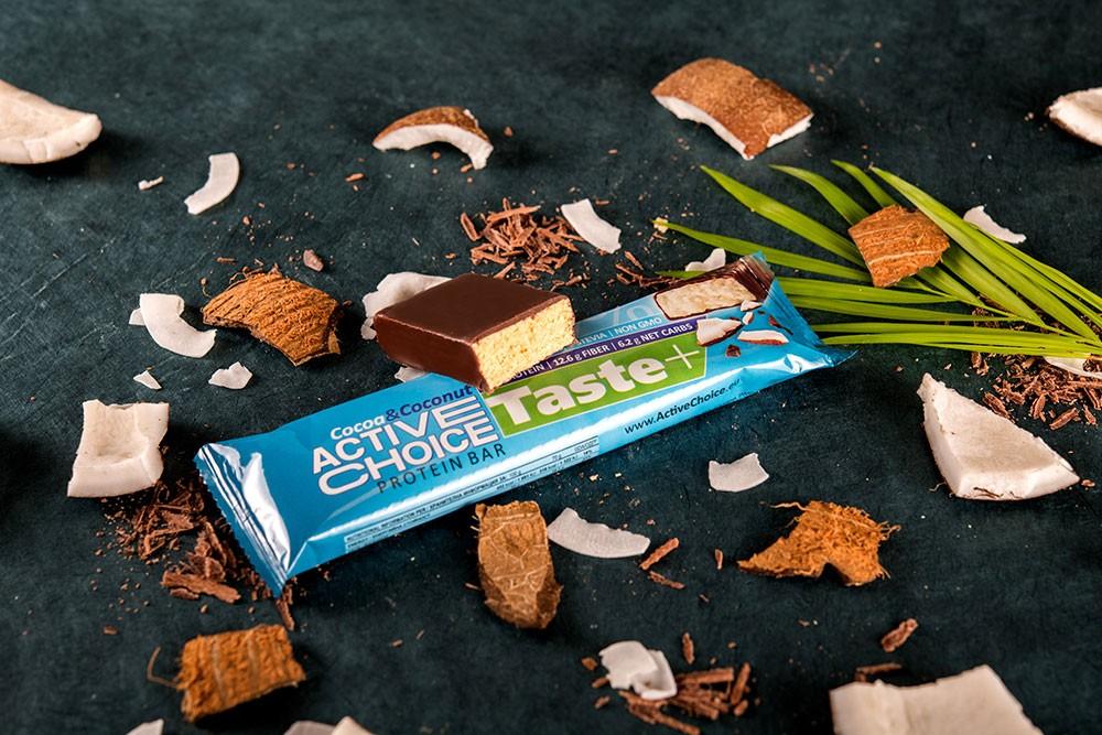 Протеинов бар Active Choice Cocoa & Coconut - серия Taste
