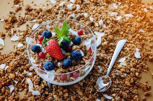 Диетични храни 2 - мюсли с плодове