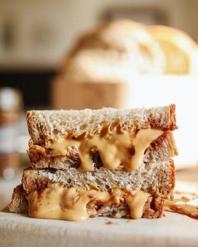 Фъстъчено масло 14 - сандвич