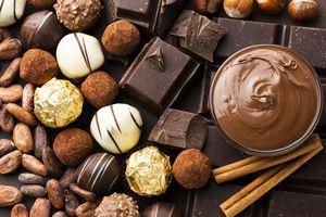 Протеинов шоколад 1 - шоколадови бонбони