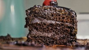 Протеинов шоколад 15 - парче шоколадова торта