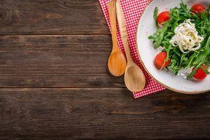 Здравословни храни 6 - салата с прибори